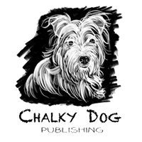 chalky dog logo digital marketing click return